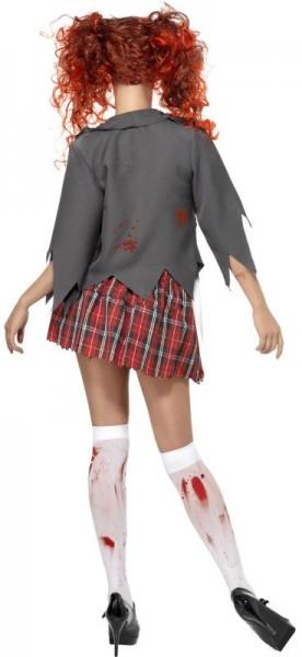 Kostium zombie uczennicy