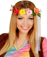 Flower Power Hippie Haarband