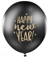 6 globos Feliz Año Nuevo 30cm