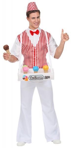 Iceman Hans men's costume