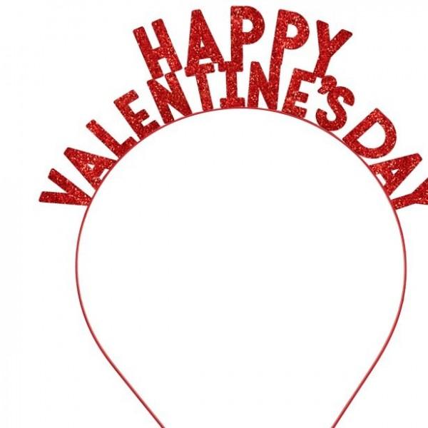 Cerchietto con scritte di San Valentino