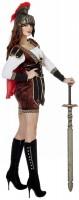 Costume de gladiateur romain Rocky pour femme