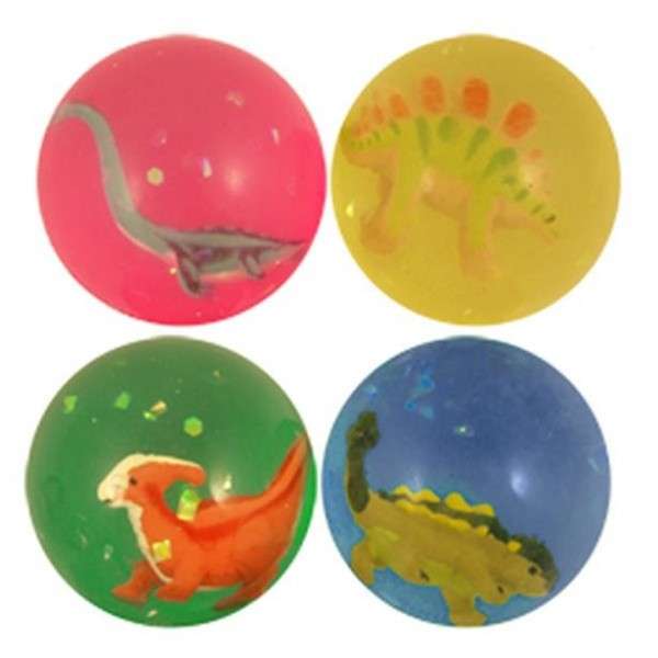 1 dinosaur adventure bouncy ball