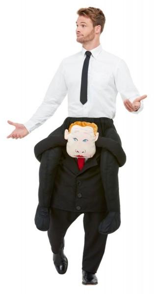 Draag me baas piggyback kostuum