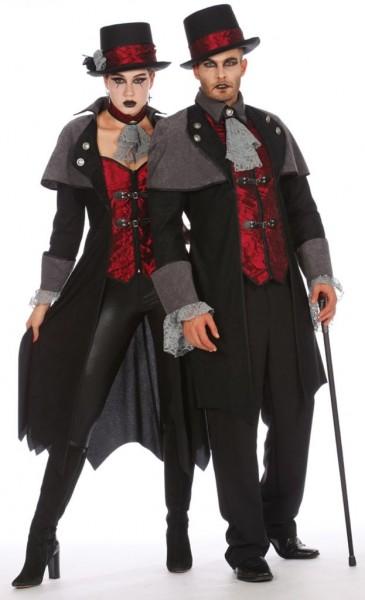 Déguisement de vampire du comte Aleko assoiffé de sang