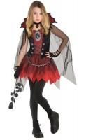 Vampir Girl Mädchen Kostüm