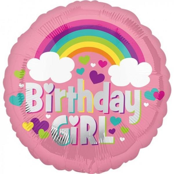 Birthday Girl Fantasyworld Ballon 46cm