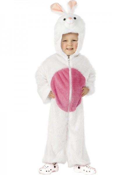 Weißes Kaninchen Kinderkostüm