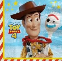 20 Toy Story 4 Servietten 33cm