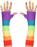 Regenbogen Armstulpen