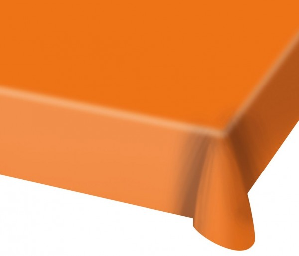 Tischdecke Cleo orange 1,37 x 1,82m