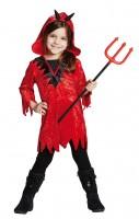 Abelina Kleiner Teufel Kinderkostüm Rot