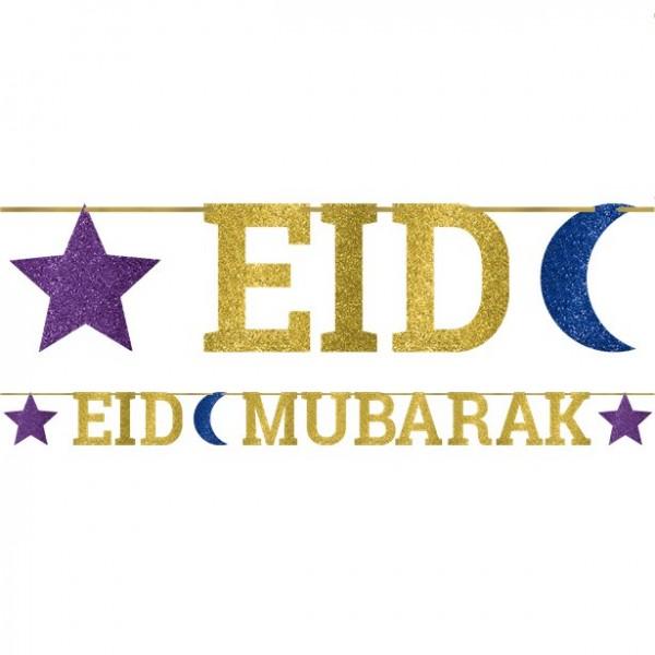 Guirlande Eid Mubarak 3.65m