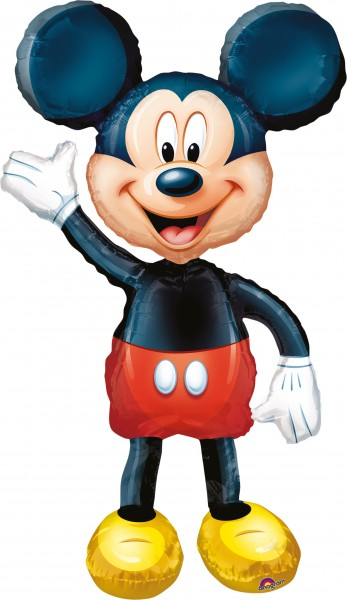 Winkender Mickey Mouse Airwalker Ballon