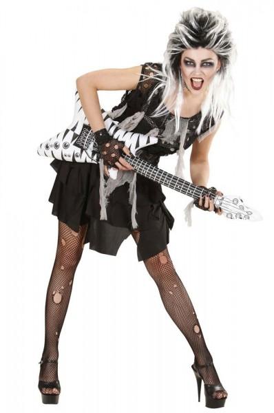 Halloween Kostüm Zombiebraut Punkig Minirock