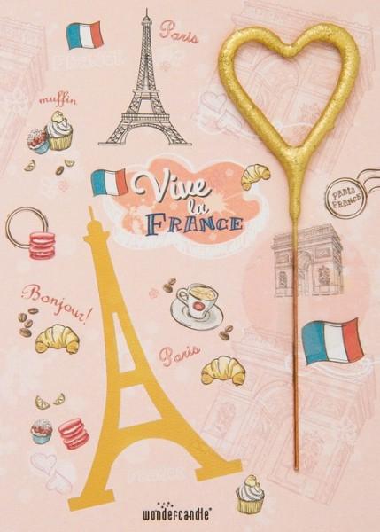 Vive la France Wondercard