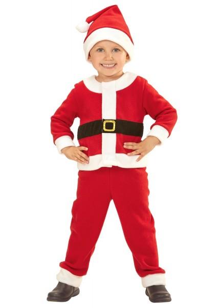 Junior Weihnachtsmann Kinderkostüm
