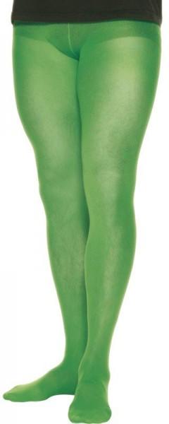 Herrenstrumpfhose in Grün