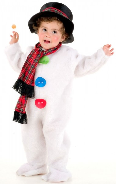 Snowman costume for kids premium