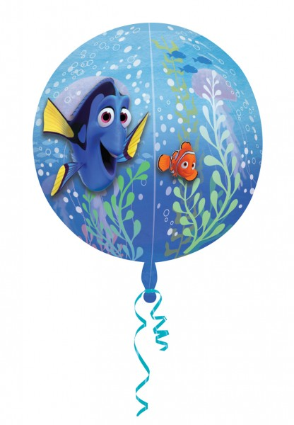 Folienballon Unterwasserspaß mit Dorie & Nemo