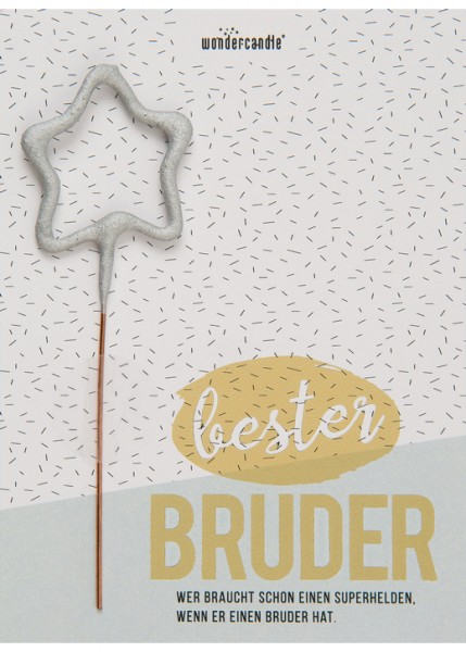 Bester Bruder Wondercard