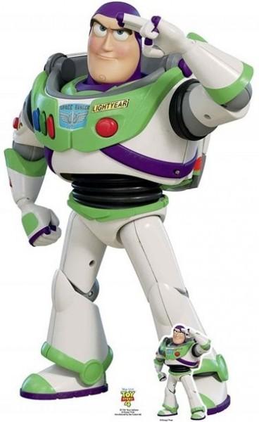 Toy Story Buzz Pappaufsteller 1,29m