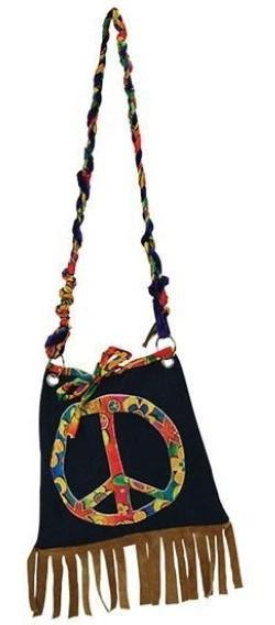 Bunte Peace Hippie Tasche