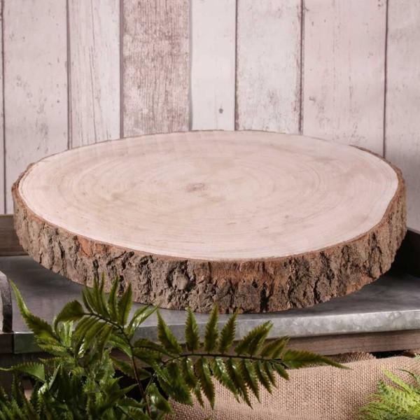 Decoratieve houten schijf Woody 43-47cm