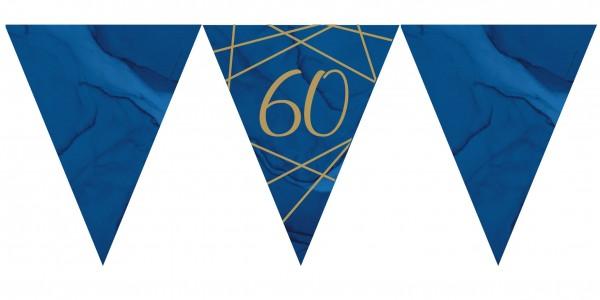 Luxurious 60th Birthday pennant chain 3.7m