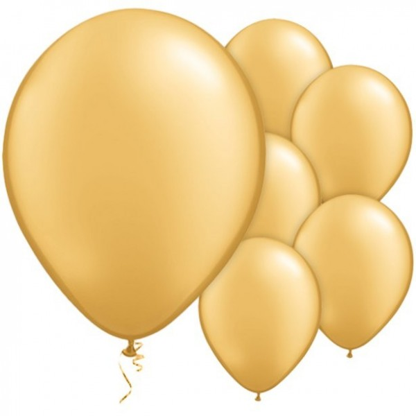 25 Qualatex Metallic Ballons 28cm