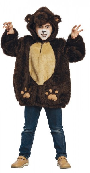 Simpatico costume per bambini orso bruno