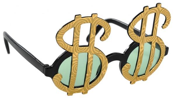 Wannabe Millionaire Brille Mit Dollar Zeichen