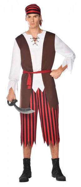 Costume de pirate Keno pour homme