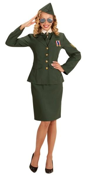 Bundeswehr Offizierin Aurelia Kostüm