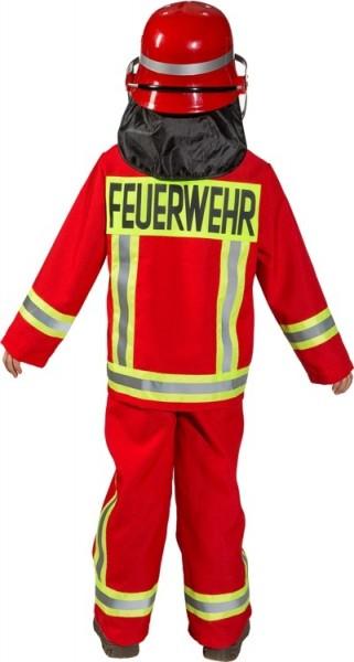 Brandweerkinderen kinderkostuum