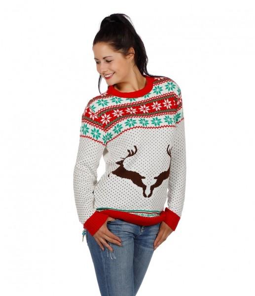 Suéter de Navidad de ciervo