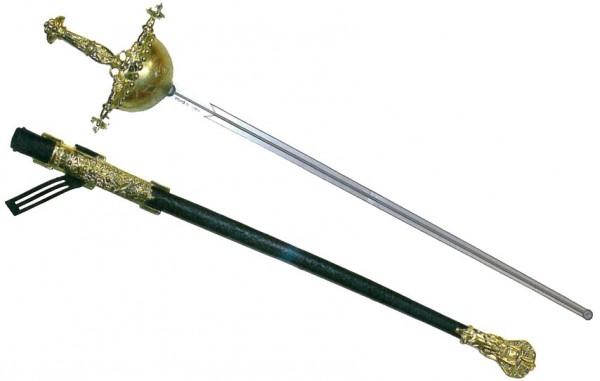 Goldverzierter Musketier Degen