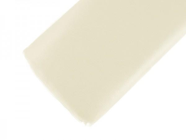 Feiner Tüllstoff in hellem Cremeton 150cm x 50m 1