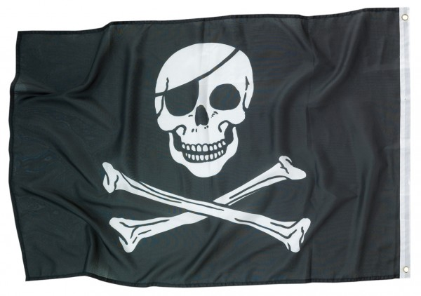 Blackbeard Piratenflagge