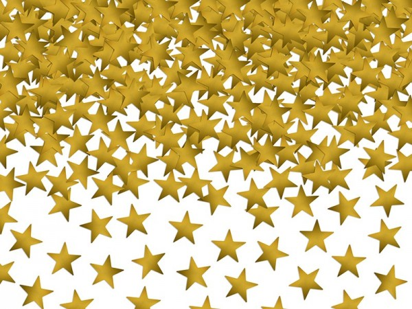 Golden Star Confetti 30g