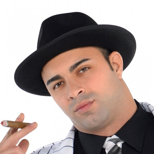 Gangster Carlo Herrenkostüm