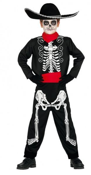 Dia de los Muertos children's costume