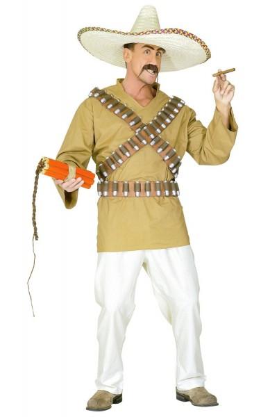 El Rado Mexikaner Kostüm für Herren