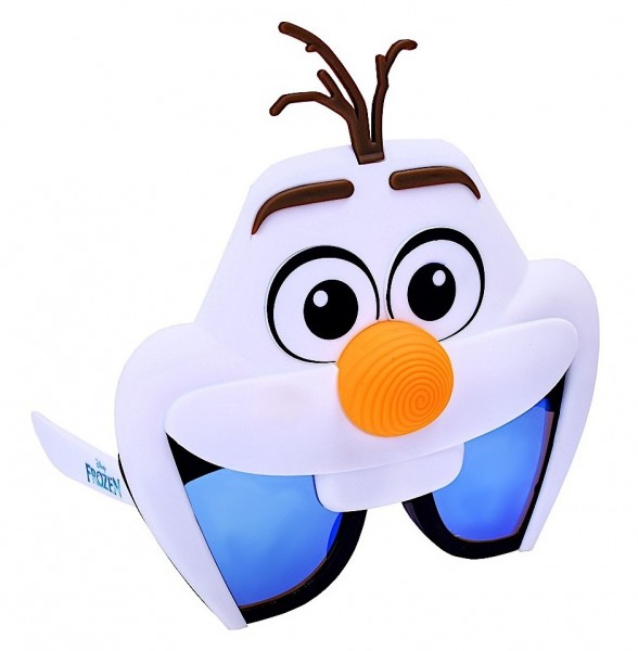 Olaf Frozen party glasses