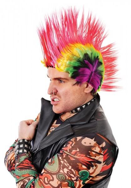Perruque Punk Iroquois