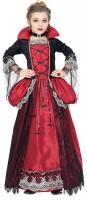 Ausgefallenes Viroletta Vampir Kostüm für Kinder