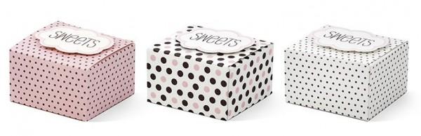 6 Candy Vintage Geschenkboxen