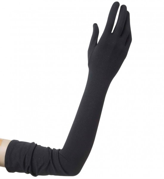 Lange Ley Handschuhe In Schwarz