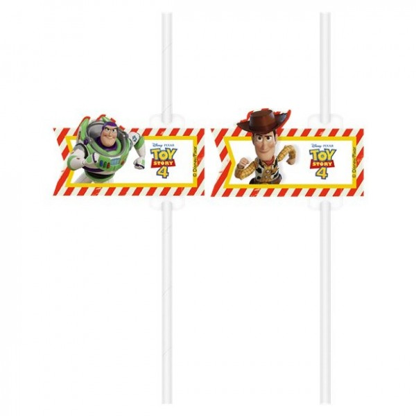 4 Toy Story IV drinking straws