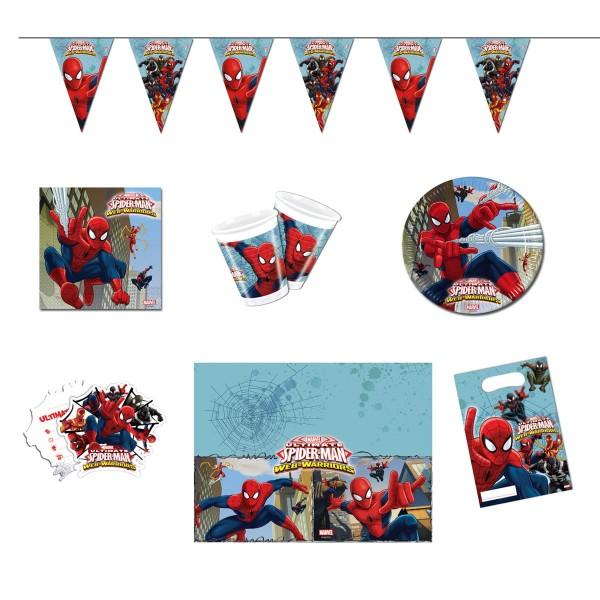 Partybox Spiderman Web Warriors 50-tlg